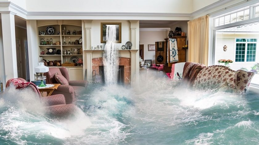 Florida flood insurance rates - water in house