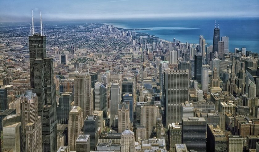 Illinois auto insurance - image of Chicago, Illinois