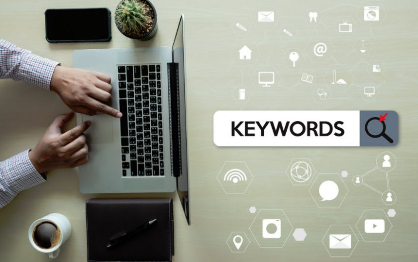 Insurance agents and small businesses need to use keywords when looking at their online stradegies