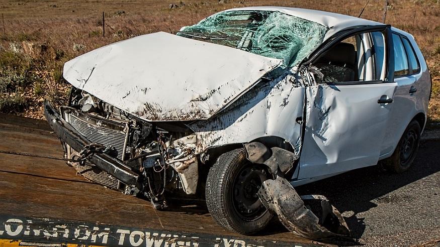 Property damage - car accident - damage