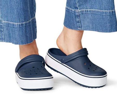 Mothers day gift ideas with new platform crocs