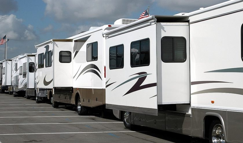 California RV insurance - RVs