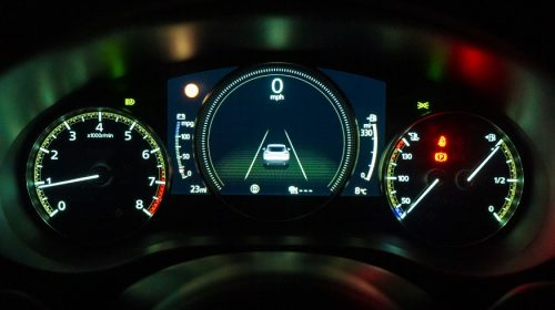 Pay-per-mile auto insurance - car dashboard