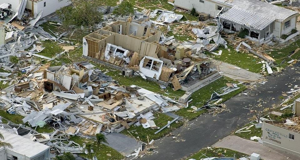 Florida property insurance - damage from hurricane