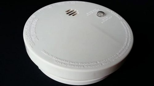 Home fire safety - smoke detector