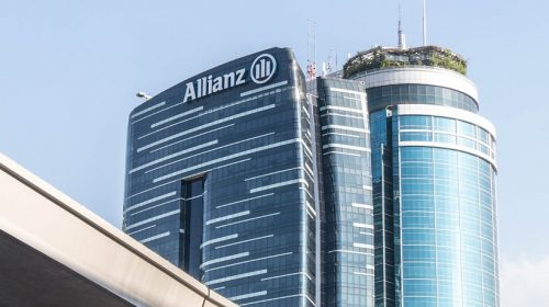 Hydrogen fuel storage - Allianz building