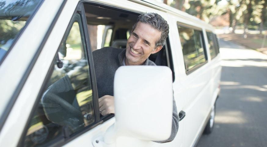 California auto insurance - happy driver