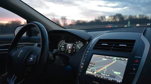 Driver assistance technology - Car with GPS tech