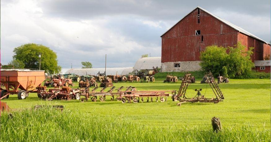 California farm Insurance - Farm, field and equipment