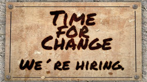 Insurance jobs - hiring sign