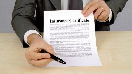 business hazard insurance required by SBA