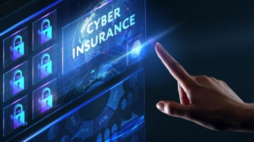 Cyber insurance rates - Cyber insurance on screen