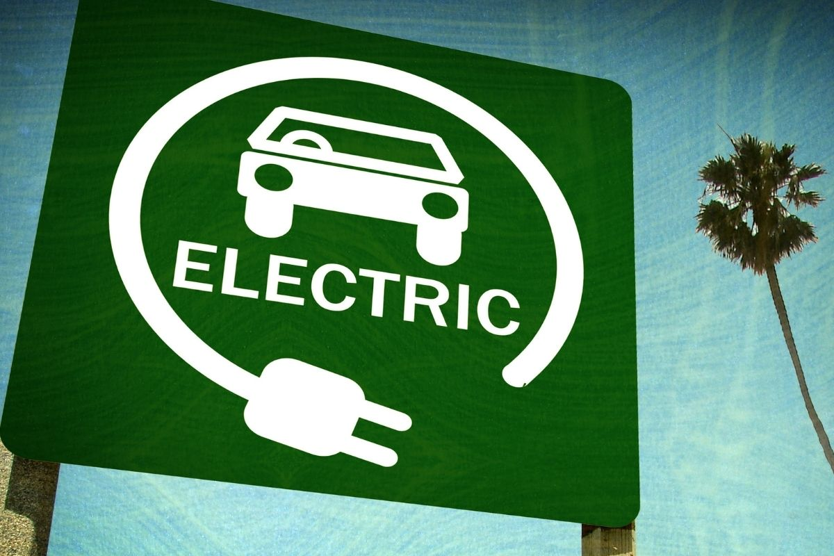 Electric vehicle insurance - electric vehicle sign