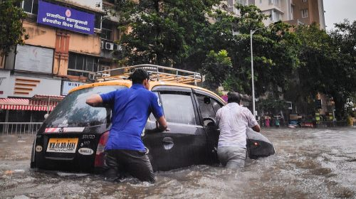 Insurance companies - flooded streets in china