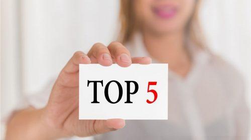 top 5 financed in uk