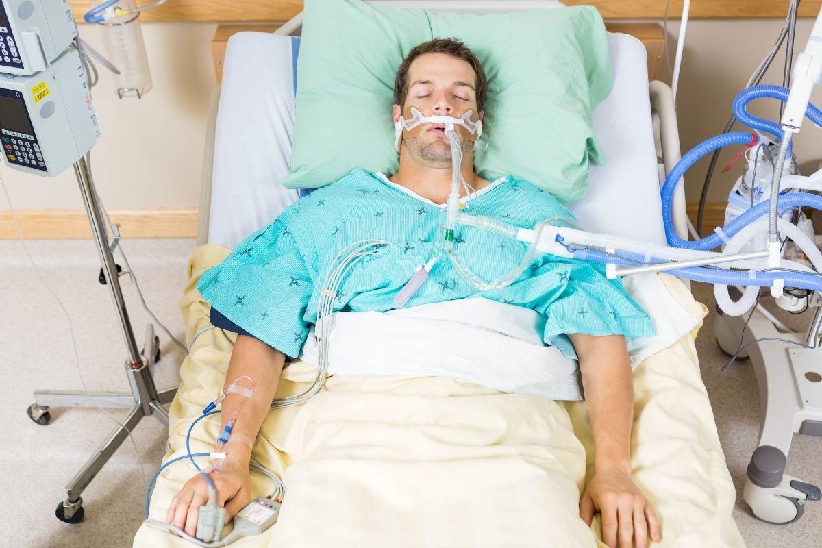COVID-19 insurance - Patient in ICU