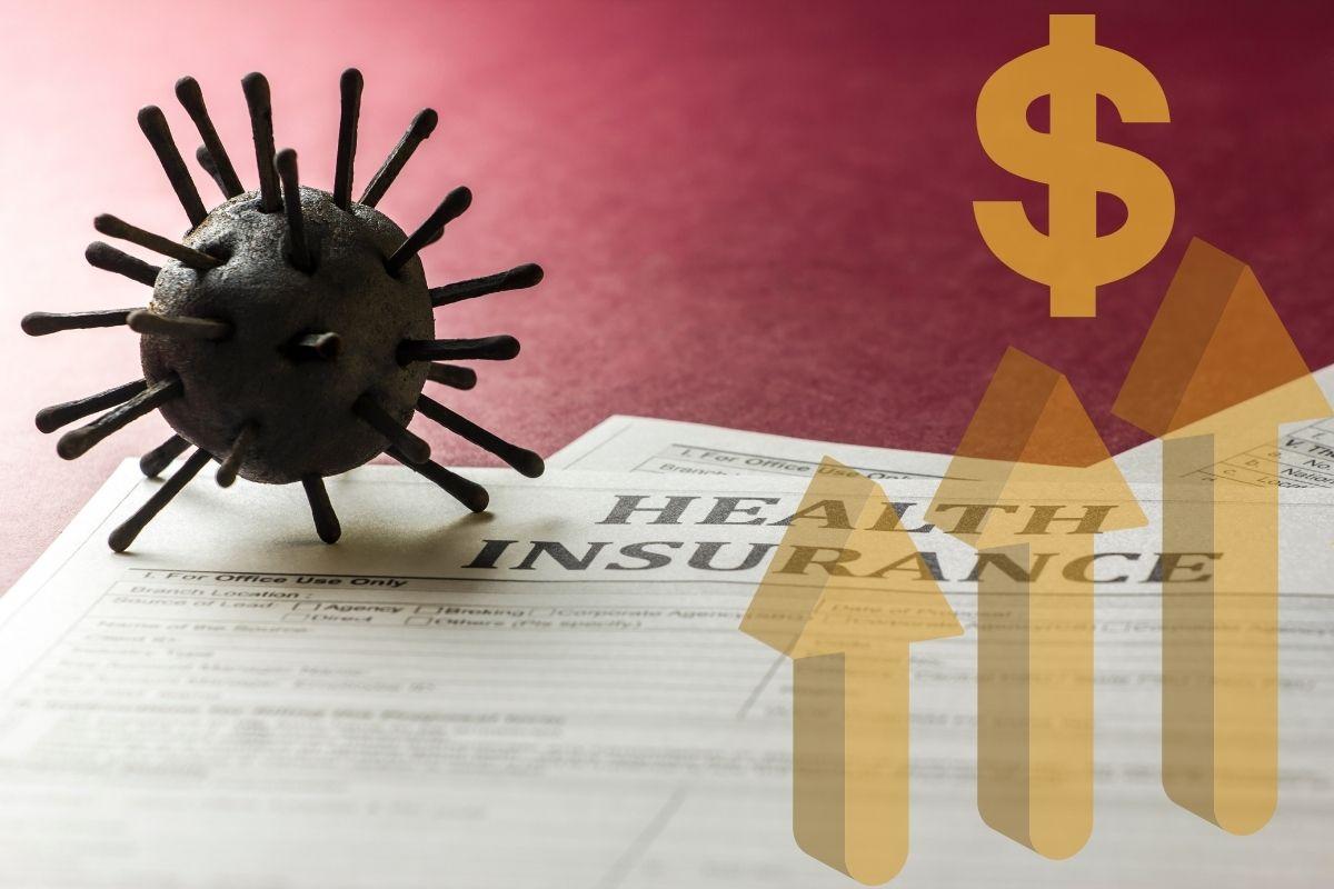 COVID-19 insurance - health insurance increase