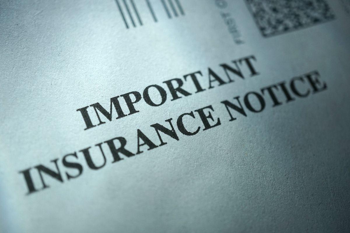 California insurance commissioner - Notice Insurance