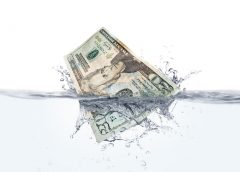 Flood insurance rates - money in water