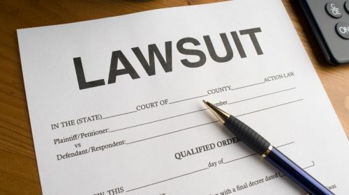 Insurance company - Lawsuit filed