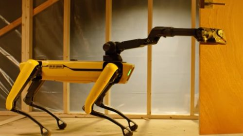 Insurance robot - Spot Launch - Boston Dynamics Official YouTube