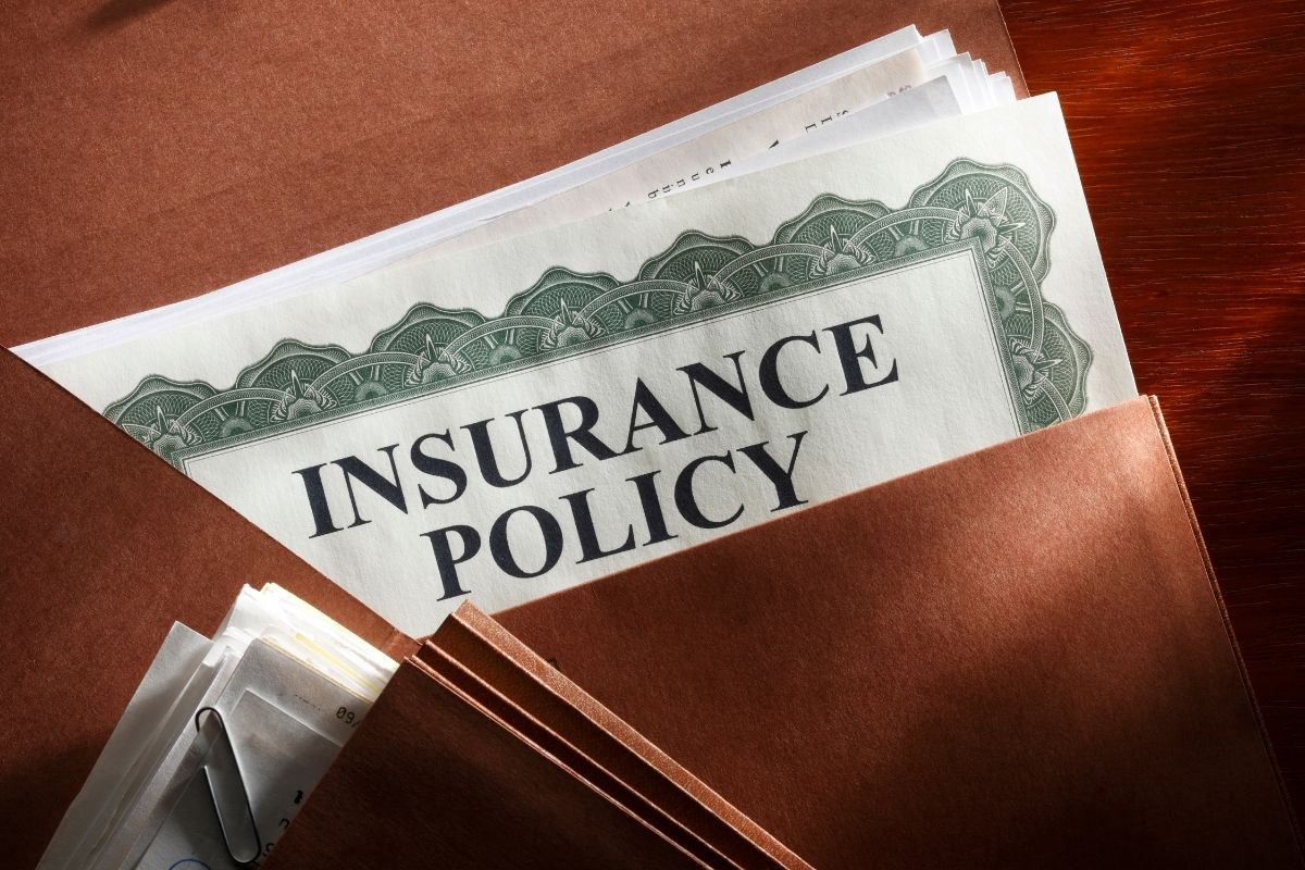 Life insurance policy - insurance policy papers
