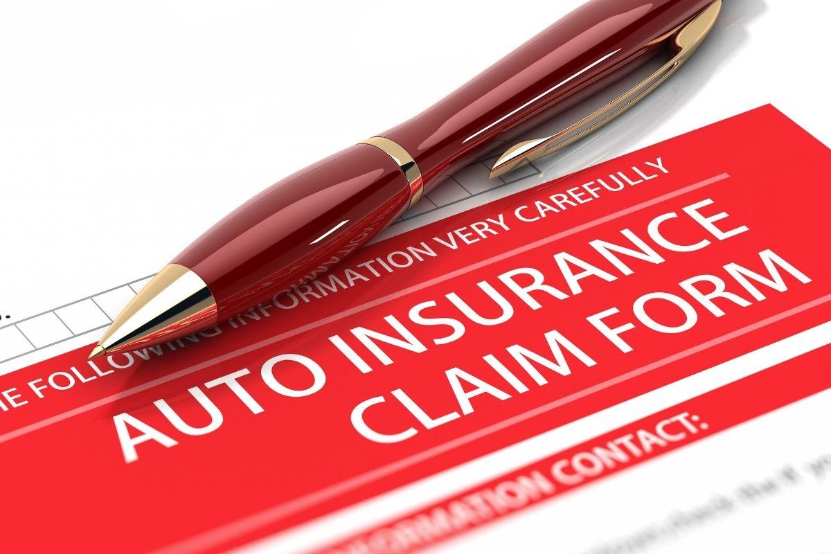 Auto insurance claims - Claim form