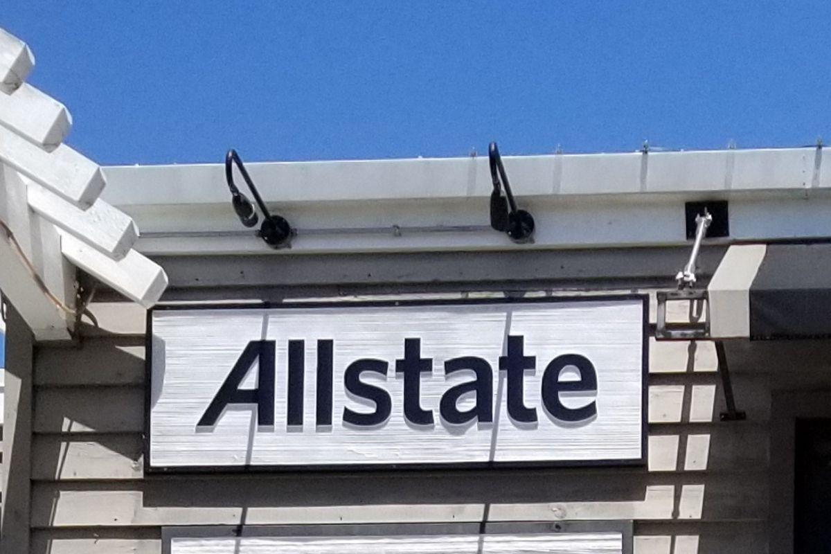 Life insurance - Allstate sign
